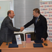 Signing of MoU by the Ombudsman of the Republic of Macedonia and the USAID LGBTI Inclusion Project