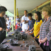 Cotabato City Youth Graduate from U.S. Government-Supported Skills Training Program