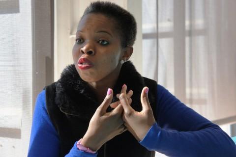 ASPIRES program counsellor, Rebecca Ledwaba, explains the importance of Vhutshilo and Financial Literacy.