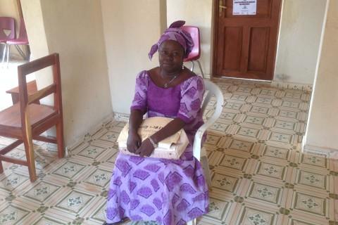 Sayon Mansaray, a social worker and former teacher in Koinadugu