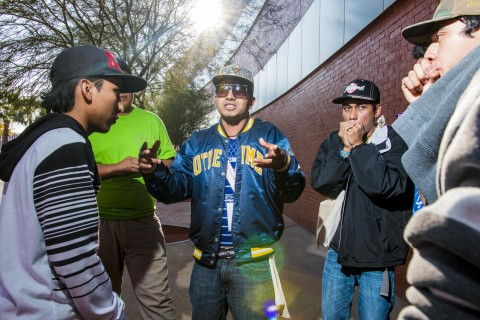 At-risk youth in Monterrey become role models in their communities, using rap music as an outlet.