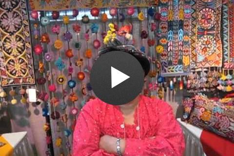 Wari Urpi en el Santa Fe International Folk Art Market
