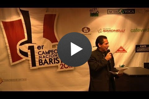 1er. Campeonato Nacional de Baristas