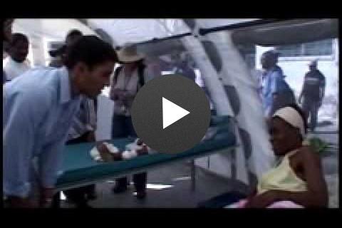 USAID Administrator Dr. Rajiv Shah in Haiti, Part 1