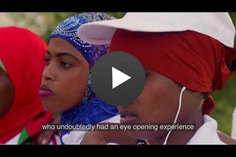 Girls Basketball Unites Divided Communities in Somalia